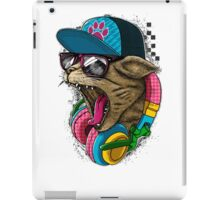 Cool And wild Cat iPad Case/Skin