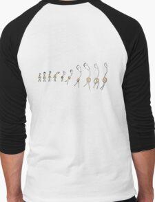 Dance Evolution Men's Baseball ¾ T-Shirt