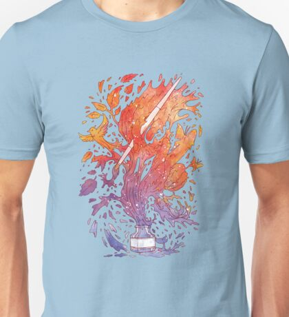Draw itself Unisex T-Shirt