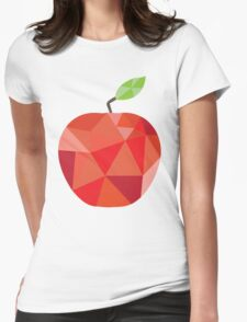 Apple Womens Fitted T-Shirt
