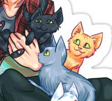 Josh Dun + Cats Sticker