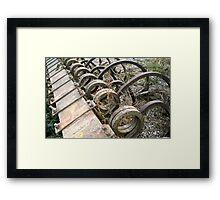 The Beauty of Farm Equipment 3 Framed Print