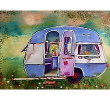 848 caravan Photographic Print