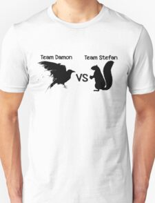Salvatore Brothers: Team Damon vs. Team Stefan T-Shirt