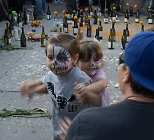 Kids at Day of the Dead Celebration Los Angeles by effie2