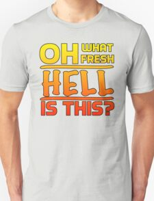 Big Bang Theory Hell Quote Unisex T-Shirt