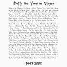 Buffy the Vampire Slayer: Episodes by natstev