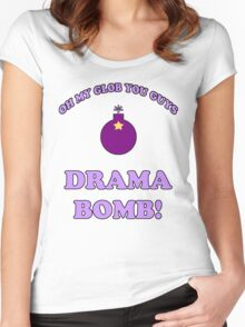 Adventure Time Drama Bomb Women's Fitted Scoop T-Shirt