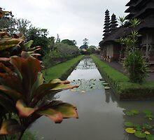 Pura Taman Ayun [Royal water temple] by Julie Foreman