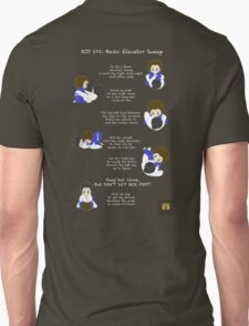 BJJ 101: Basic Elevator Sweep Unisex T-Shirt