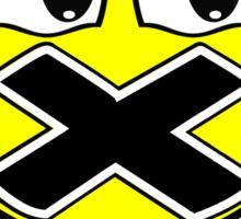 Cool Head Yellow Freak Sticker