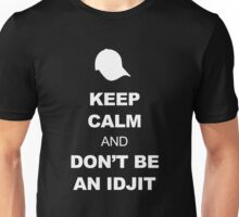 Supernatural Keep Calm Parody (Bobby) Unisex T-Shirt