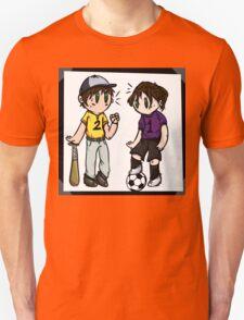 Sports Siblings Unisex T-Shirt
