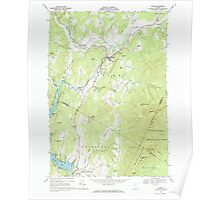 USGS Topo Map  Vermont VT Stowe 104792 1968 24000 Poster