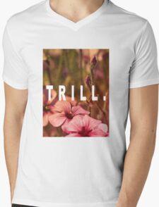 TRILL Mens V-Neck T-Shirt