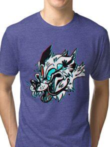 LOUDER (WHITE) Tri-blend T-Shirt