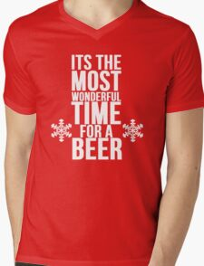 Its The Most Wonderful Time For A Beer Mens V-Neck T-Shirt