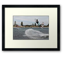 Extreme Water Sports Framed Print