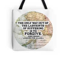 The Labyrinth of Suffering Tote Bag