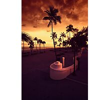 Fort Lauderdale Beach Photographic Print