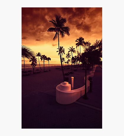 Fort Lauderdale Beach Photographic Print