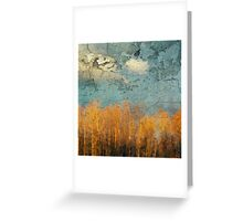 Everglades Abstract Greeting Card