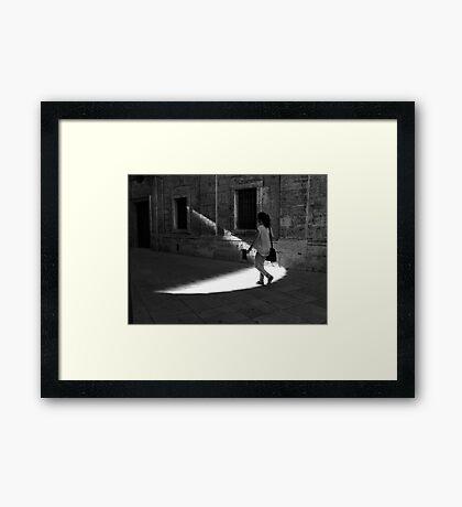 Natural Spotlight Framed Print