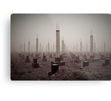 cemetery of the 21st century Metal Print