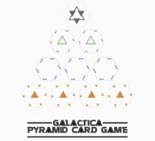 Battlestar Galactica - Pyramid Card Game by lingus