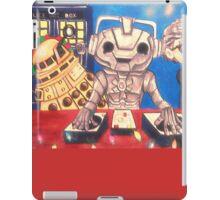 Cyberman DJ / Doctor Who Holidays iPad Case/Skin