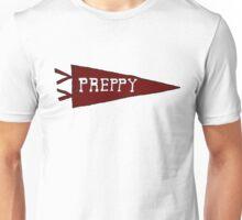 Preppy Pennant (Crimson) Unisex T-Shirt