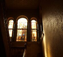 At the Top of the Stairs by kalaryder