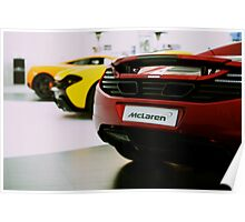 McLaren Roadcar Lineup (MP4-12C, P1) Poster