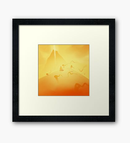 Journey (2) Framed Print