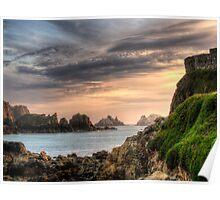 Alderney Sunset Poster