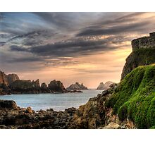 Alderney Sunset Photographic Print