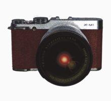 Fuji Instax camera, retro style X-M1 by trishie