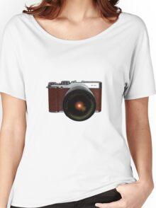 Fuji Instax camera, retro style X-M1 Women's Relaxed Fit T-Shirt