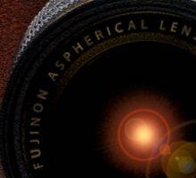 Fuji Instax camera, retro style X-M1 Sticker