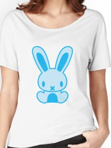 The stuffed toy of the rabbit Women's Relaxed Fit T-Shirt