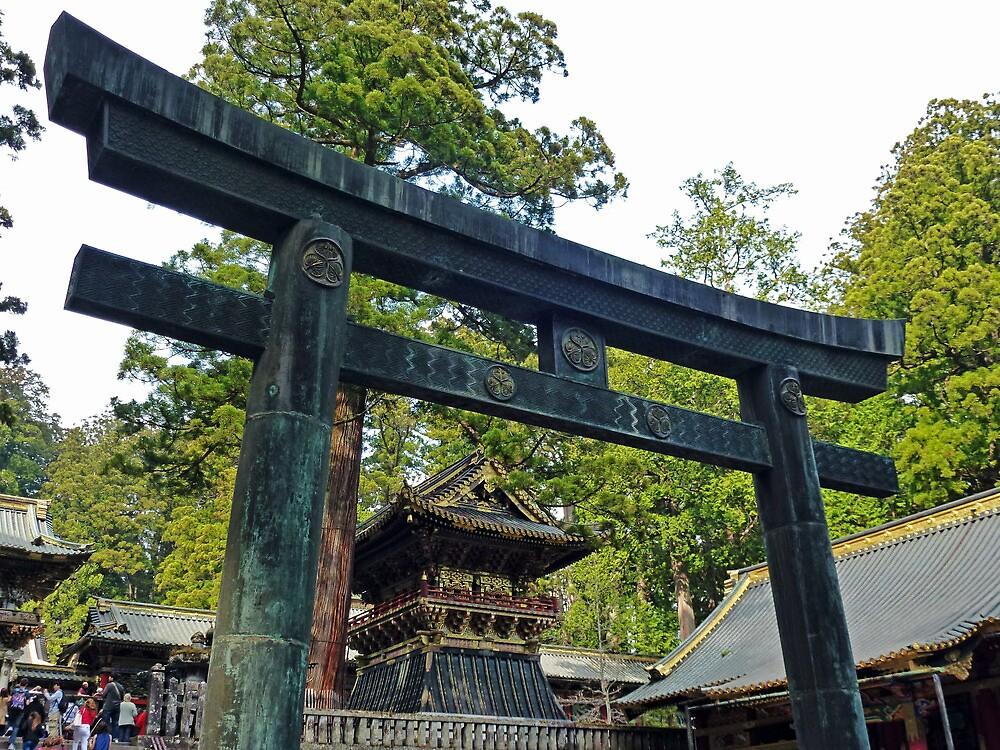 Toshogu Torii by DarthIndy