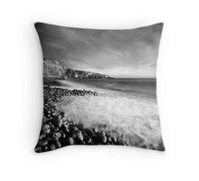 Spring Swell (Mono) Throw Pillow
