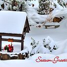 Wishing Well Christmas Card by K D Graves Photography