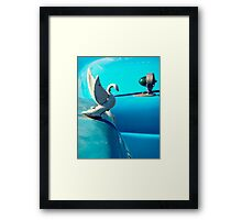 I want a ticket to go anywhere  Framed Print