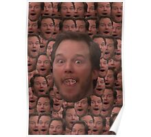 Andy Dwyer Head Poster