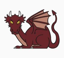 Smaug sticker by redscharlach