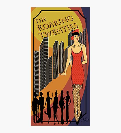 The Roaring Twenties Photographic Print