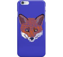 What does the fox say? iPhone Case/Skin