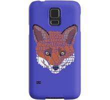 What does the fox say? Samsung Galaxy Case/Skin