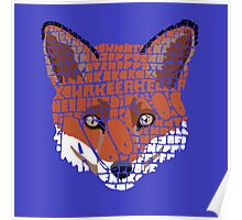 What does the fox say? Poster